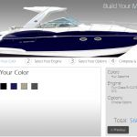 New Build a Monterey Boat Web Tool