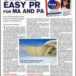 PR Book by Marine Industry Marketer Featured in Soundings Trade Only