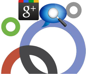Google+ search traffic