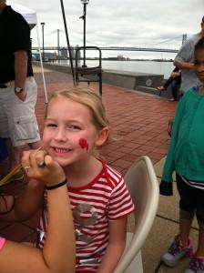 kids boating event fun