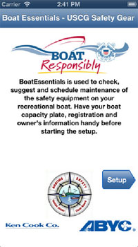 boat safety app