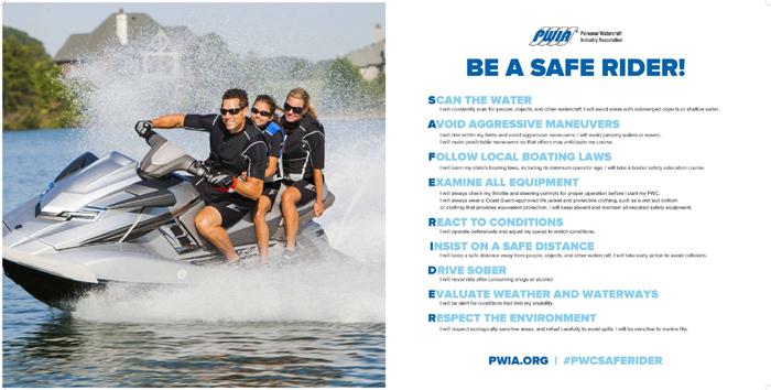 PWIA Safe Rider Pledge