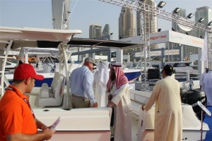 SureShade at Dubai International Boat Show