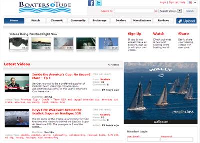 boaterstube video website