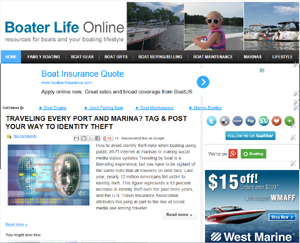 BoaterLifeOnline.com blog