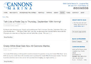 cannons marina blog