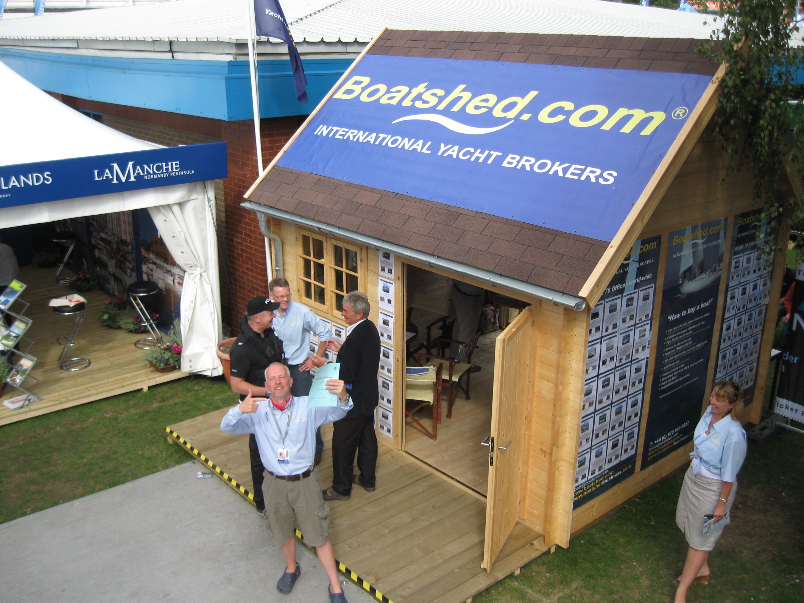 Boatshed yacht brokerage