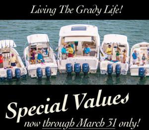 Grady-White special values