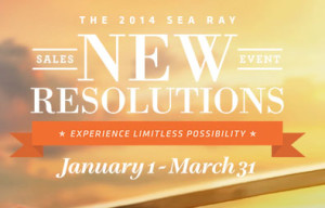 sea ray new year sales event