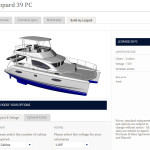 Leopard Catamarans Launches Build a Boat Web Tool