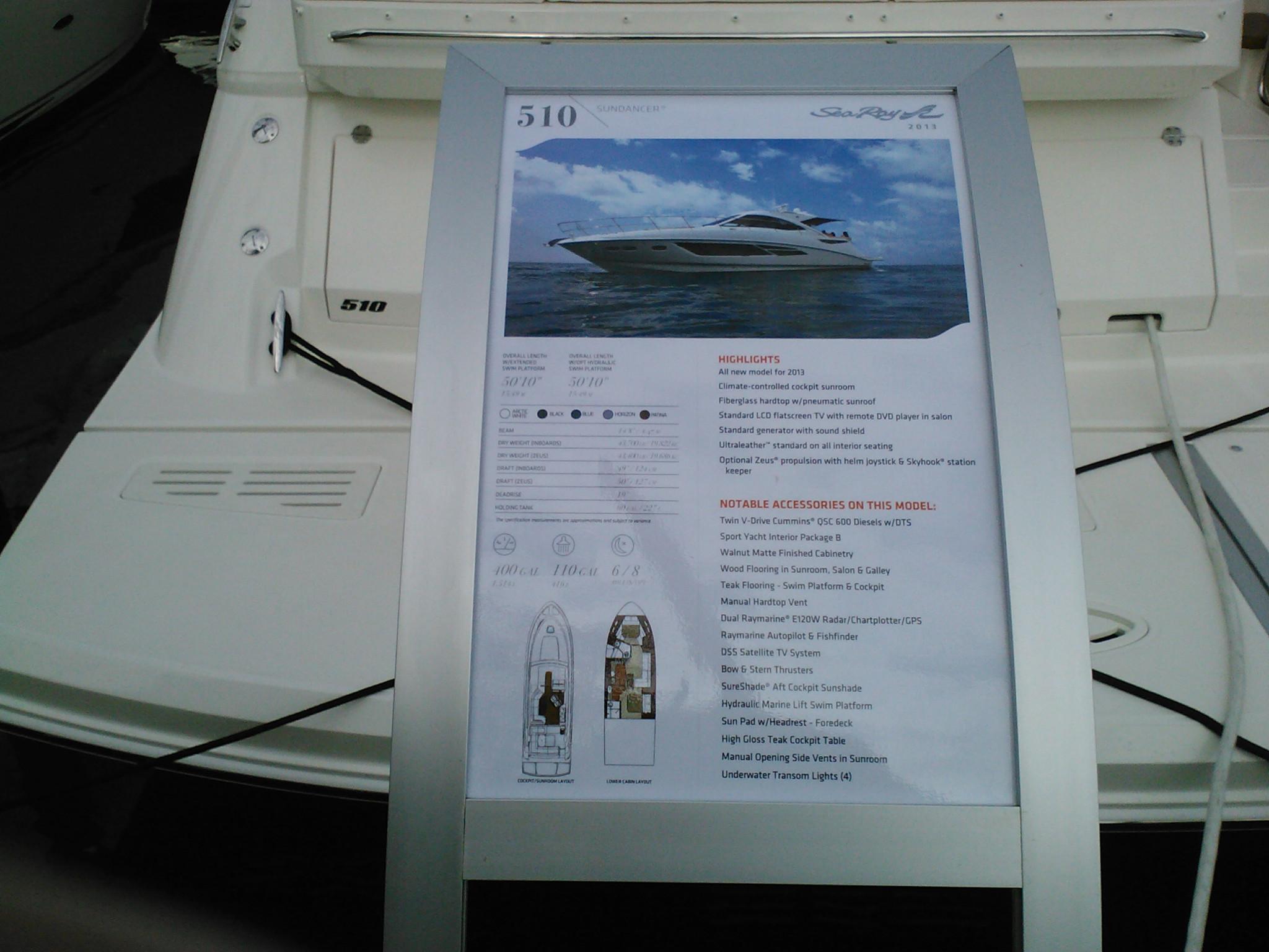 marketing boat options