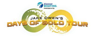 discover boating jake owens tour logo