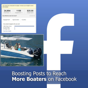 facebook boost posts to boaters