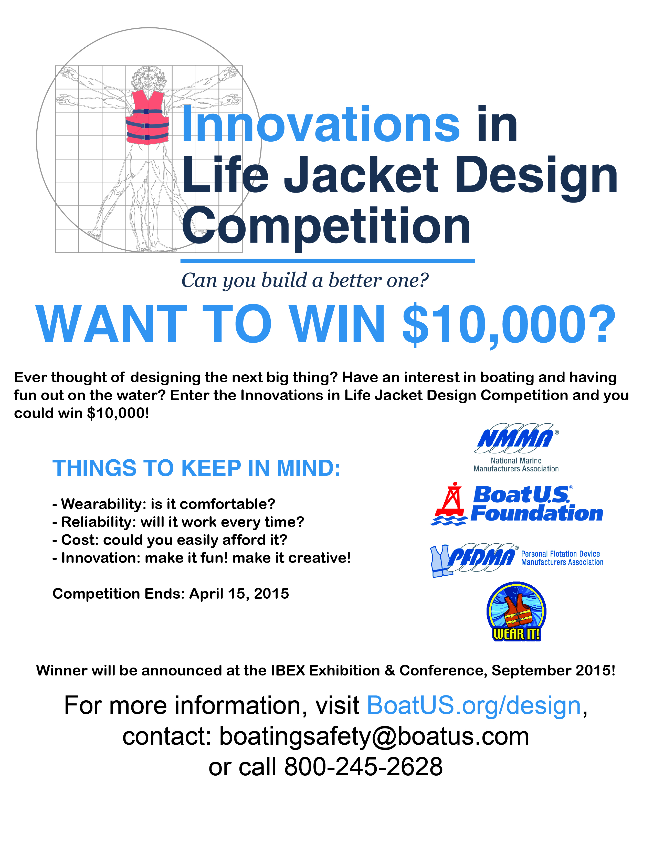 life jacket design competition