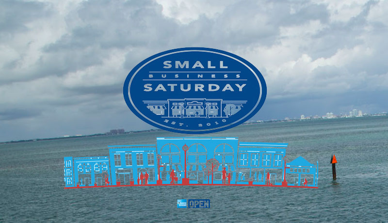 small business Saturday boating