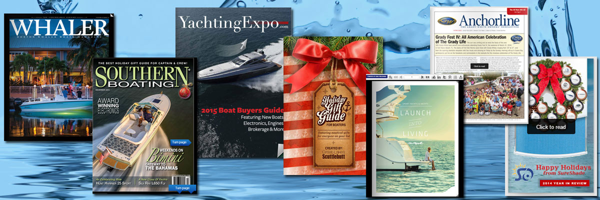 digital publications in boating