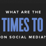 Best Day and Time to Post on Social Media: B2B vs B2C Infographic and Chart