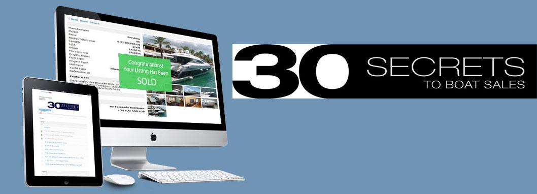 30 secrets to boat sales training