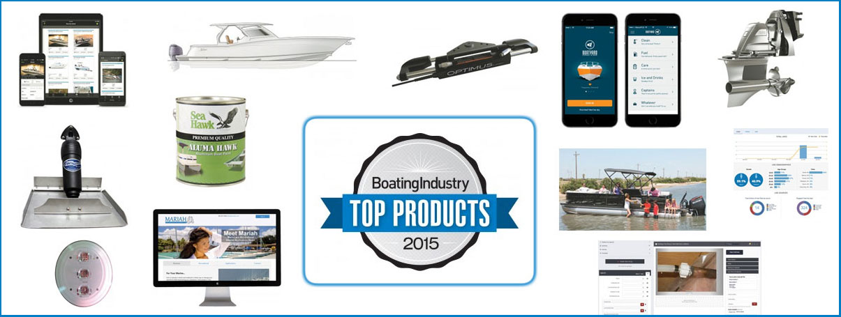 top new products in boating industry for 2015