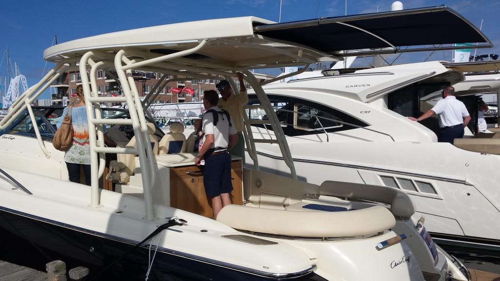 Newport boat show models