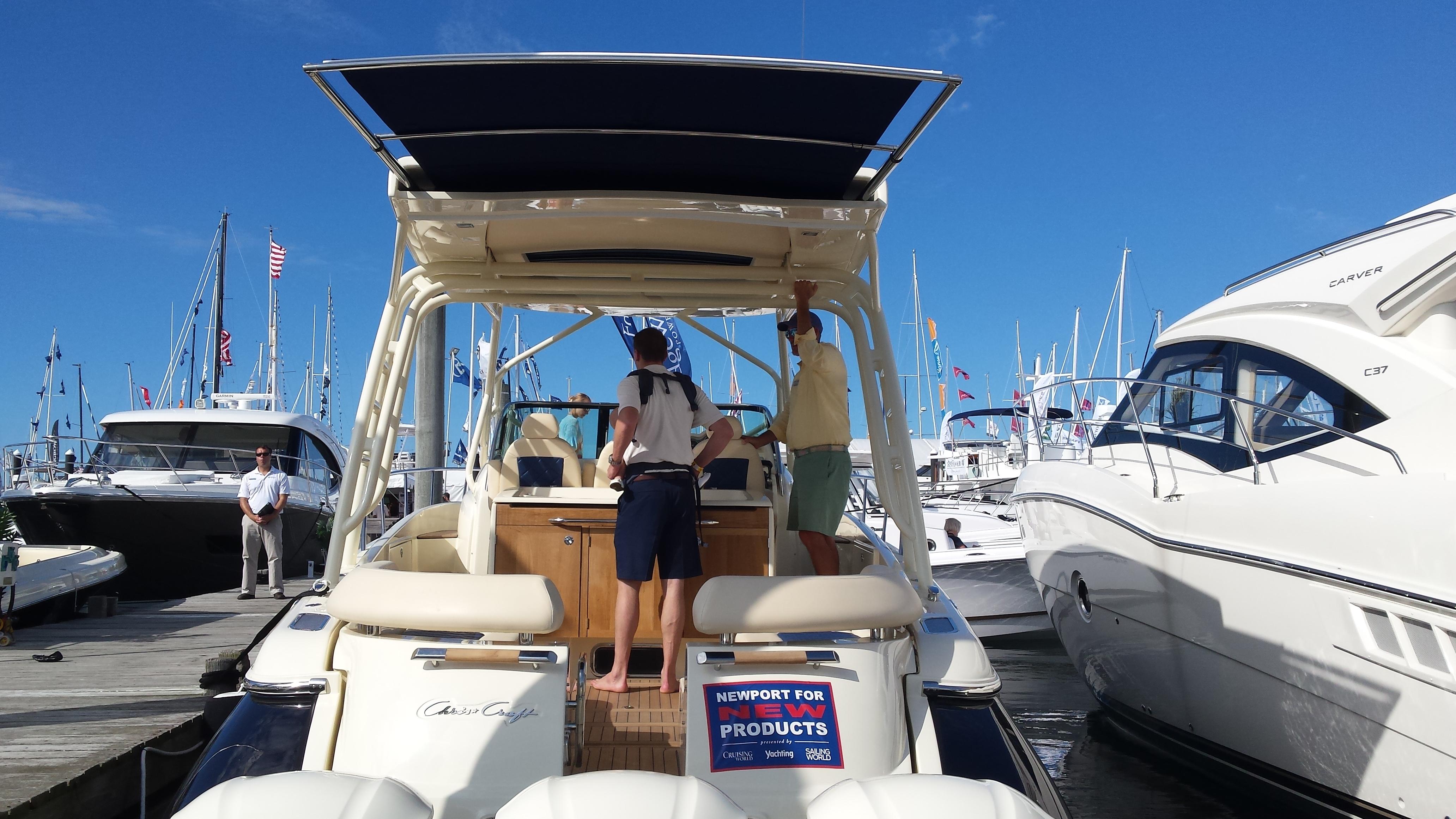new boat model debuts