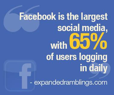 Facebook use statistic