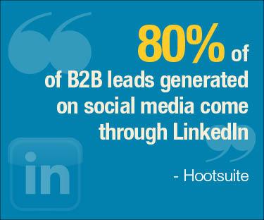 LinkedIn use statistic