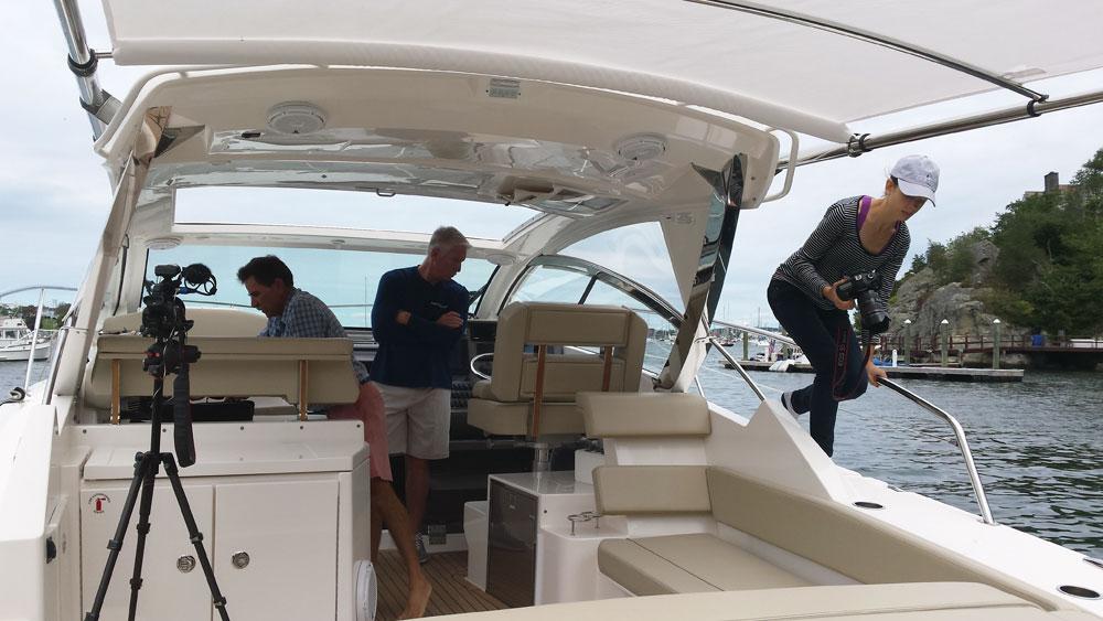 boat photography shoot