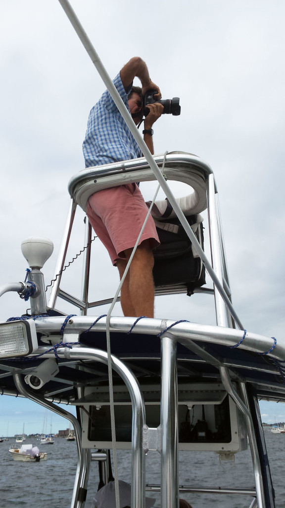 chaser boat tower
