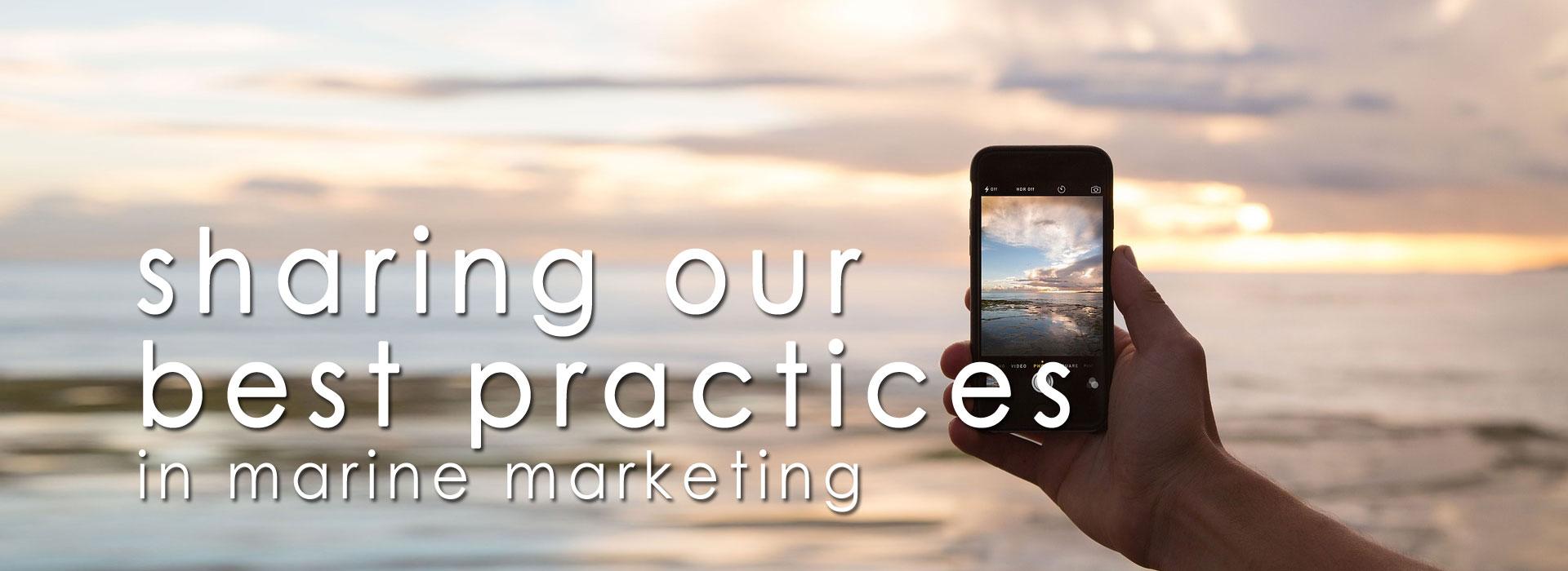 best practices marine marketing