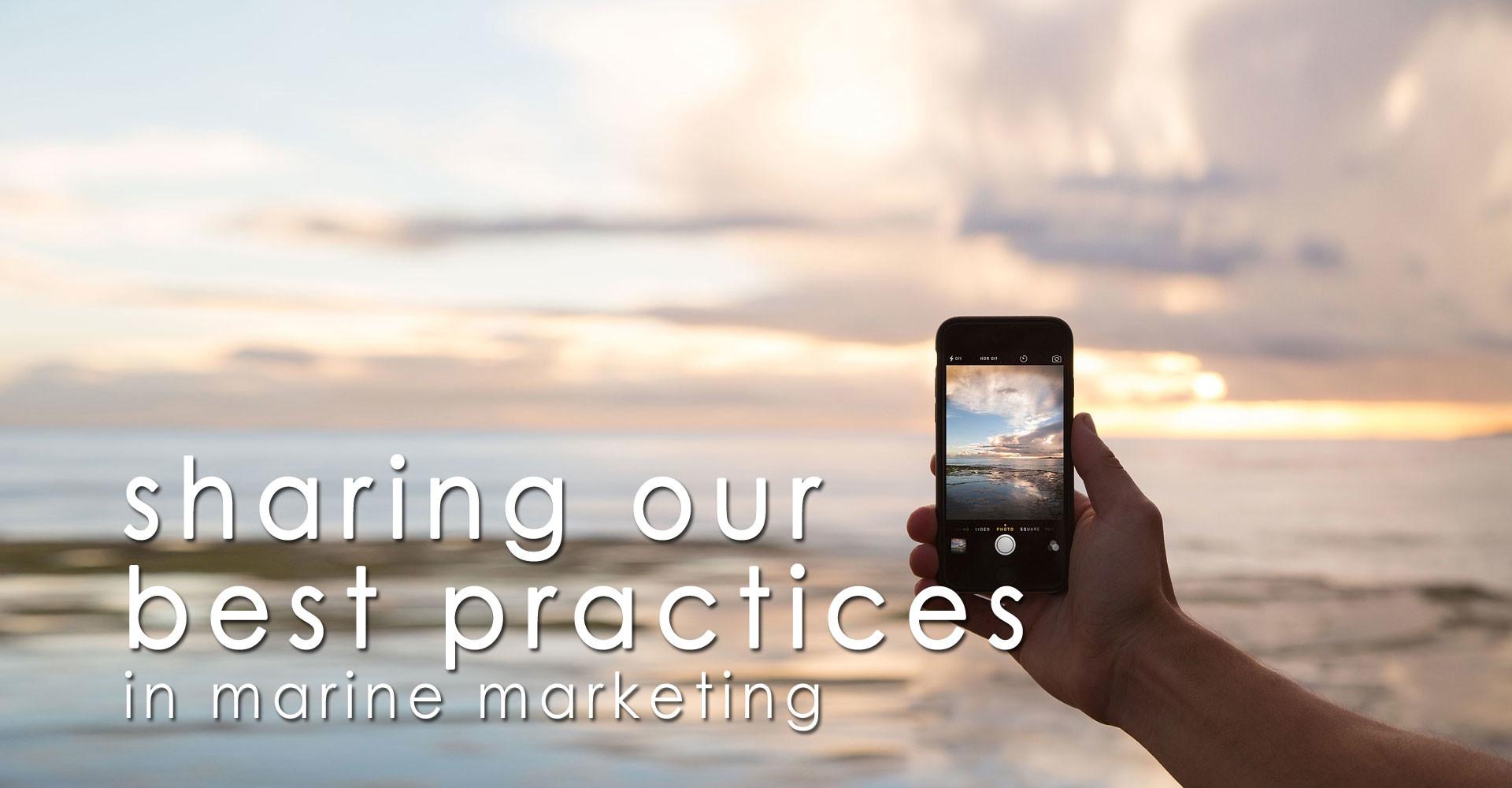 marine marketing best practices