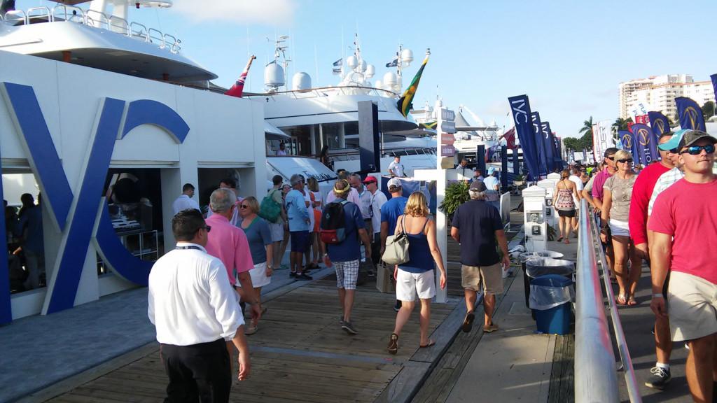 boat show sales success