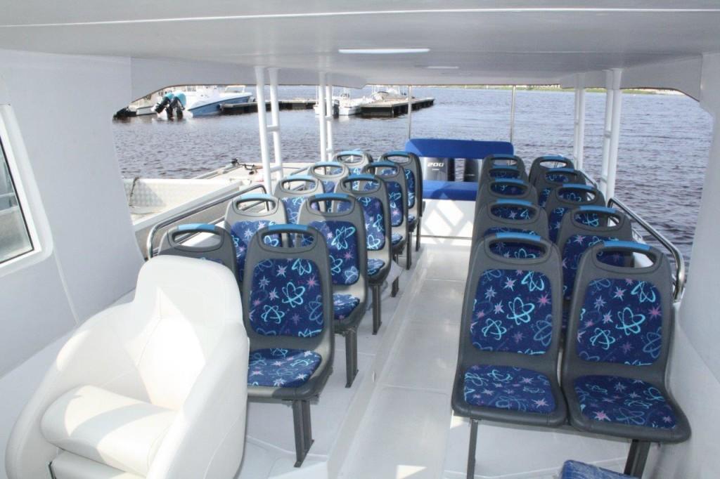 passenger boat layouts