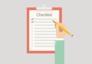 checklist web design