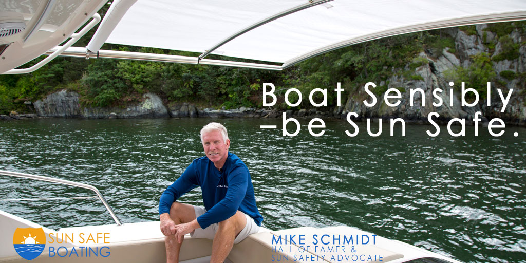 Sun Safe Boating Mike Schmidt