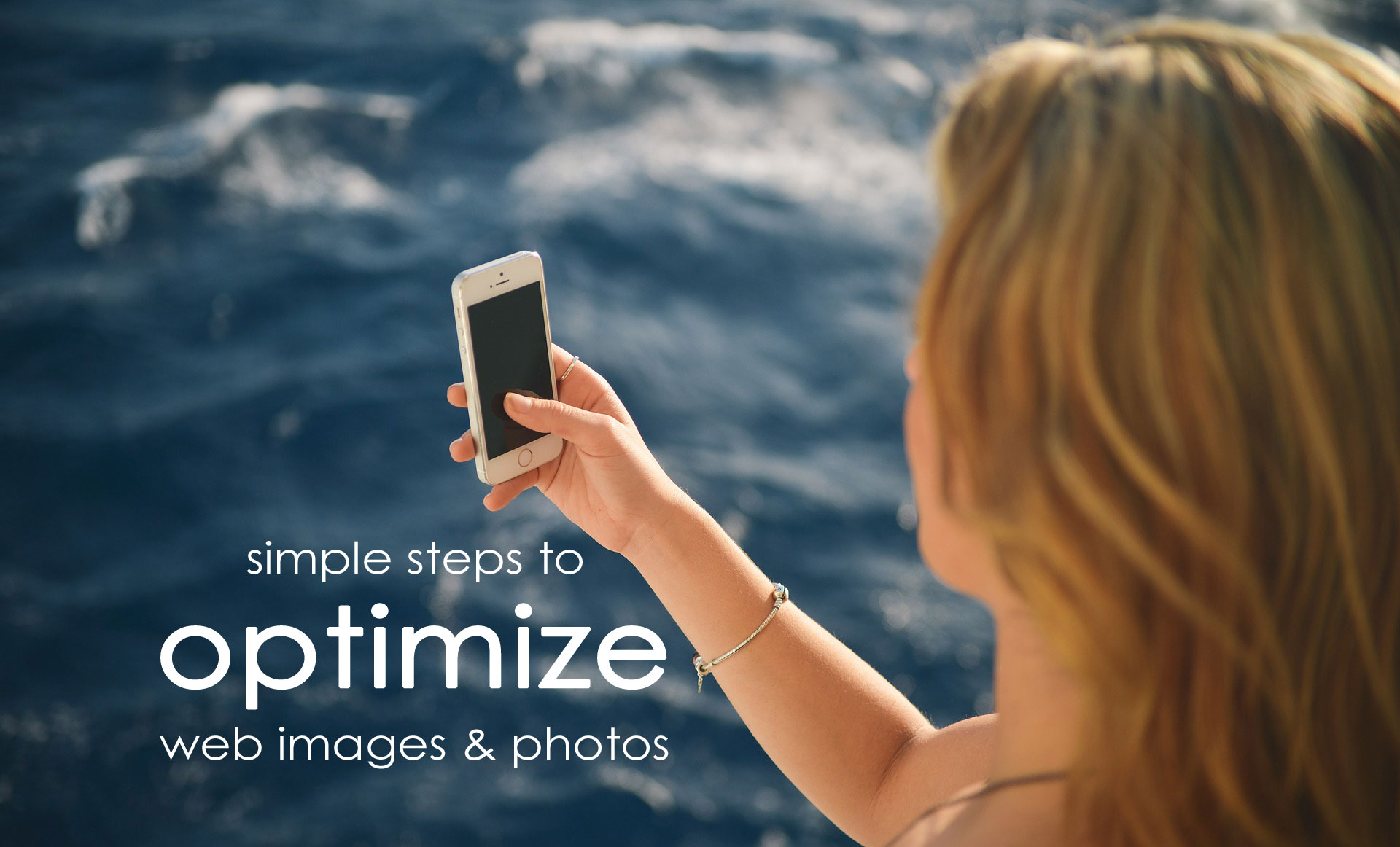 optimize web images photos