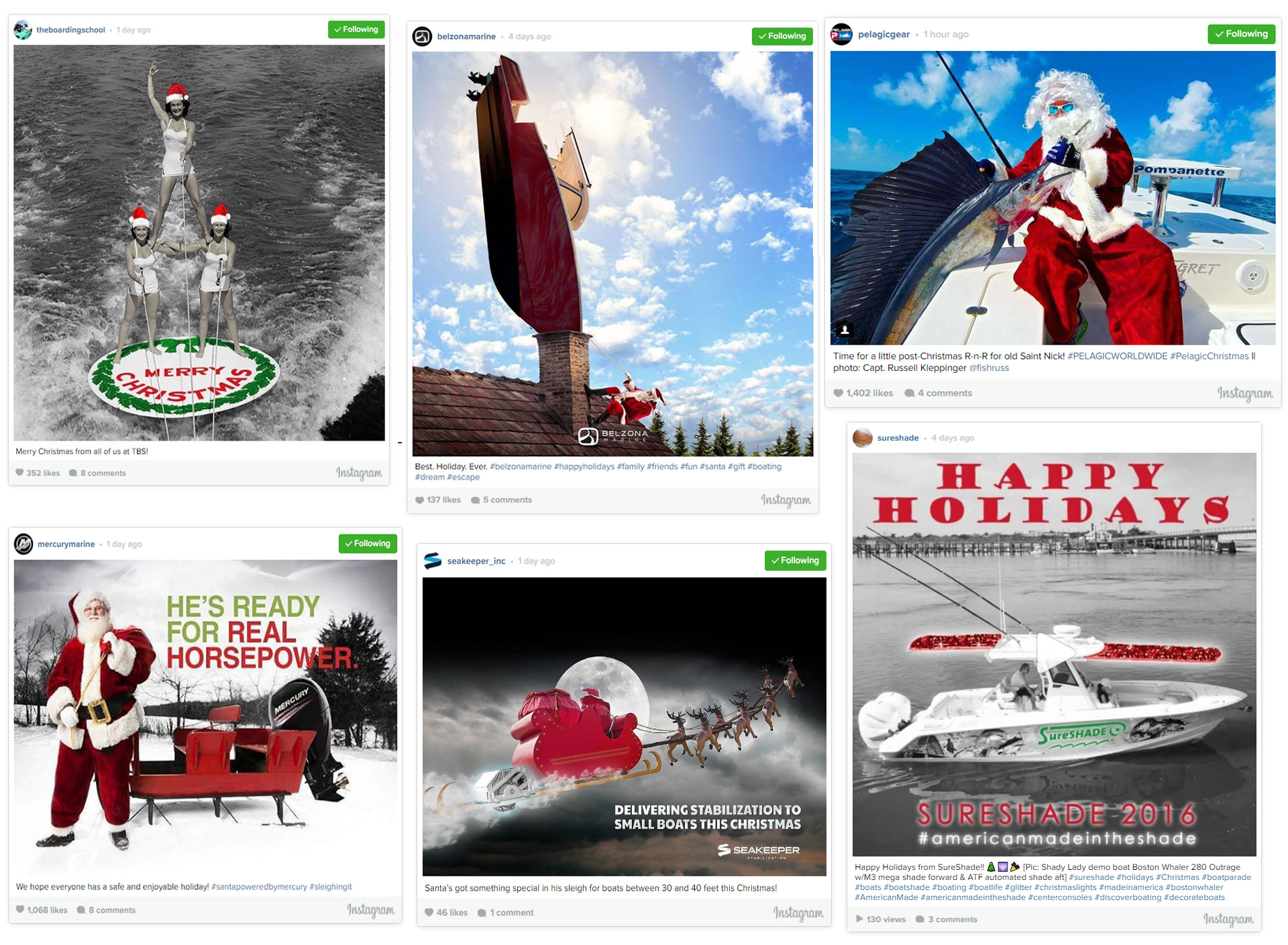 Holiday Boating Posts
