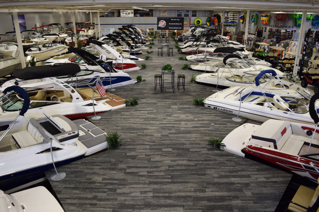 boats showroom