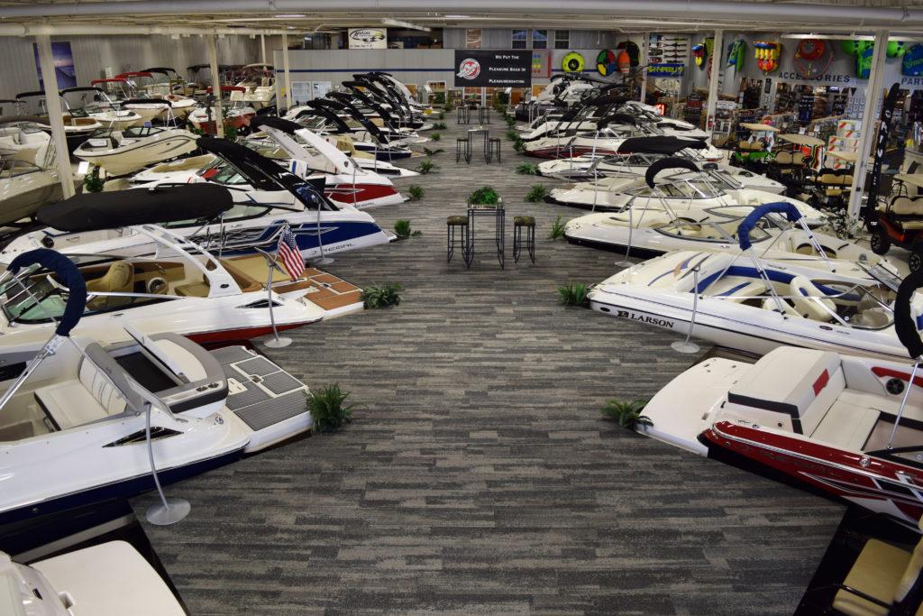 boats showroom