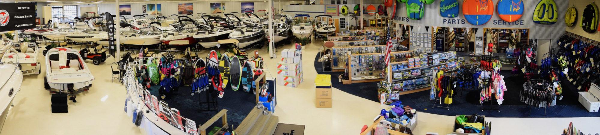 marine center showroom